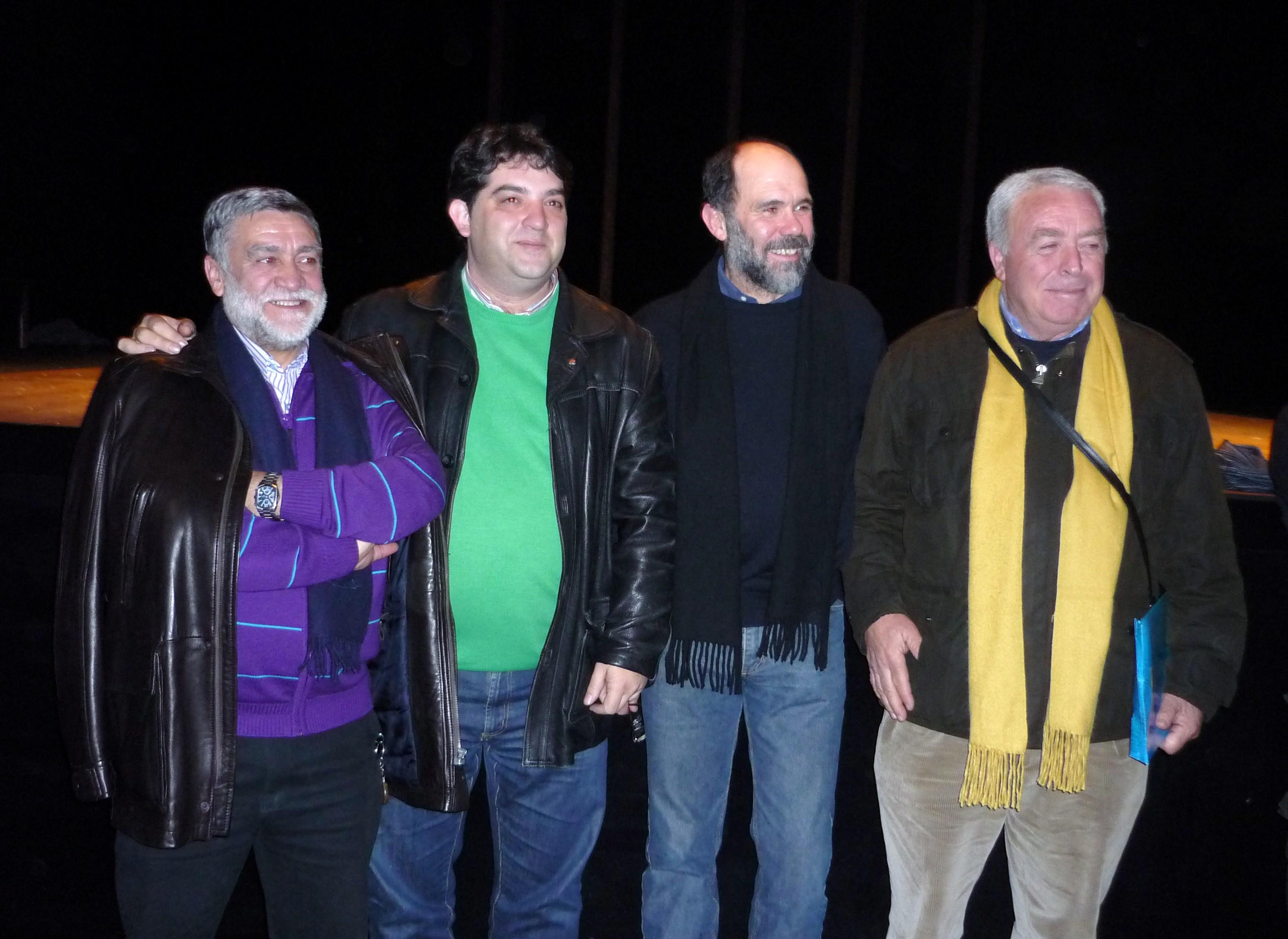 Cuatro alcaldes de Zalamea
