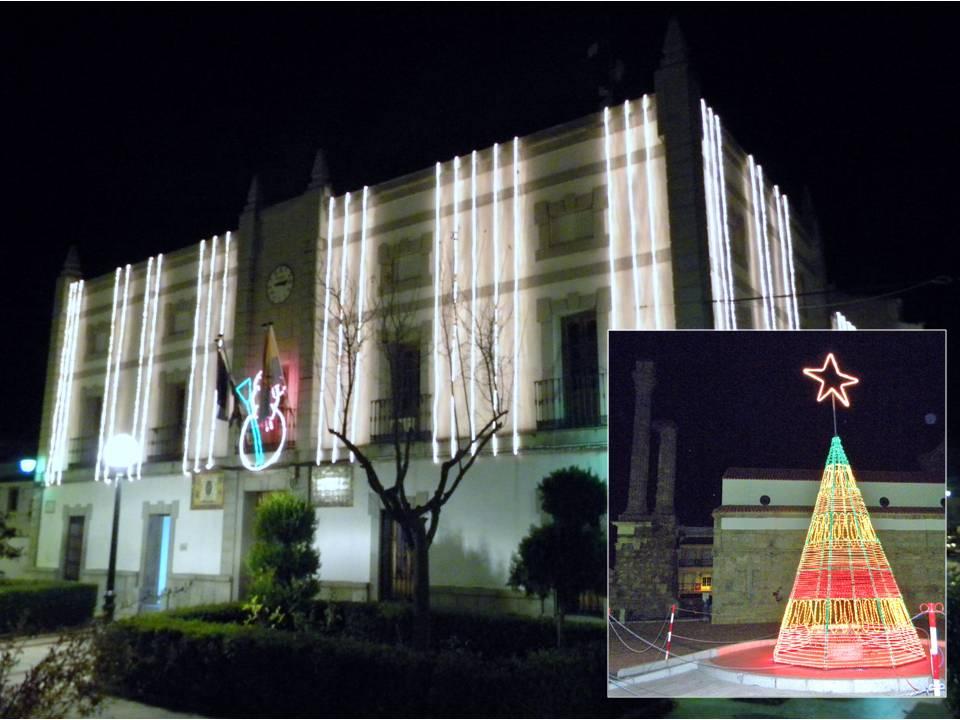 Más luces y menos gasto para esta Navidad