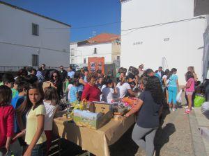 El colegio de Esparragosa crea una cooperativa de aceite a través de 'Junior Emprende'