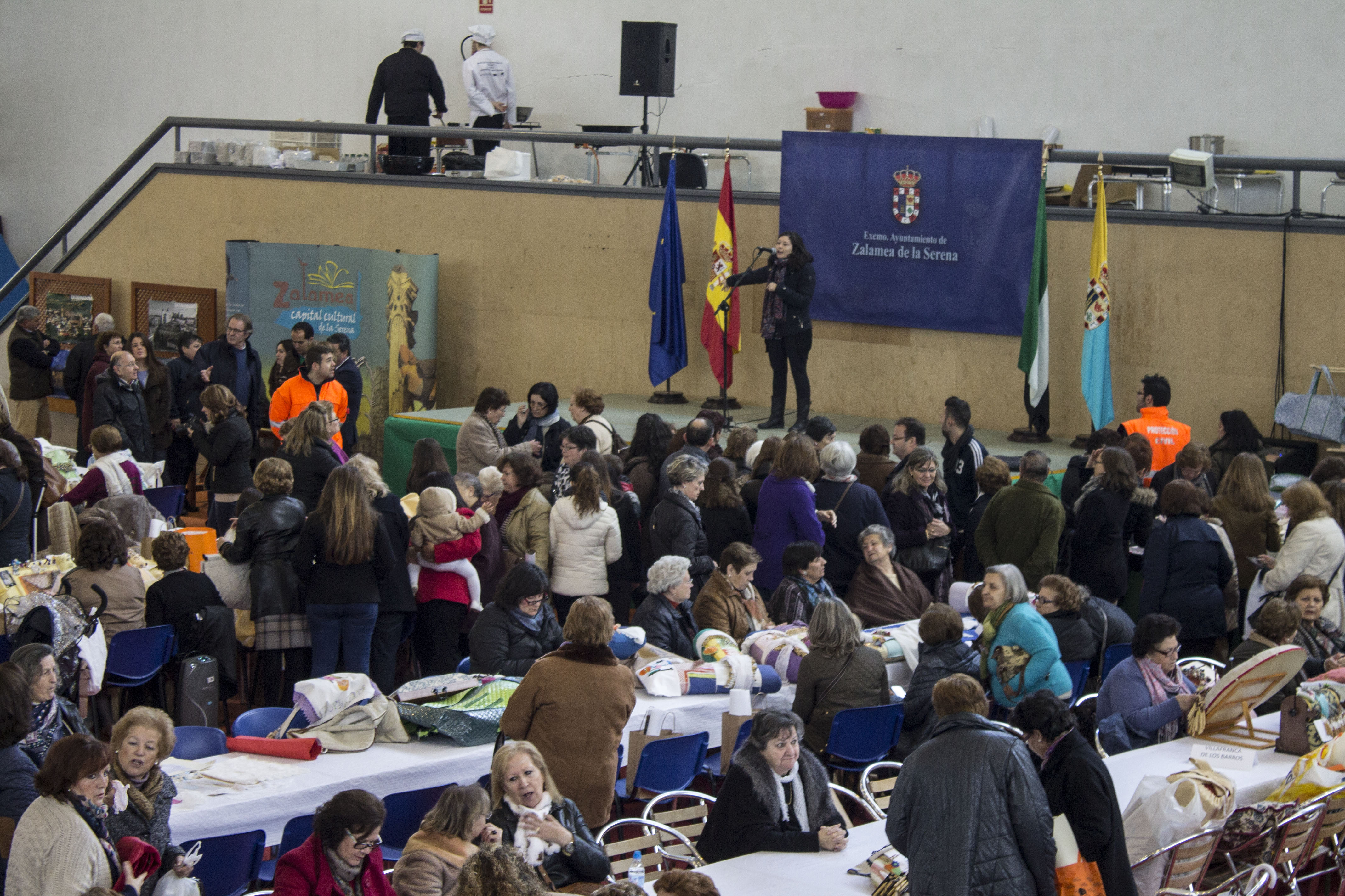 I Encuentro de Bolilleras en Zalamea